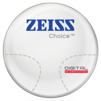 Zeiss Zeiss® Choice™ Hi-Index 1.67 Progressive  Lenses